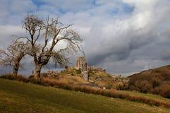 Corfe Castle stock image