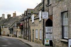 Corfe Castle village, Dorset. Stock Images