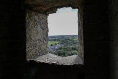 Corfe Schloss Lizenzfreies Stockfoto