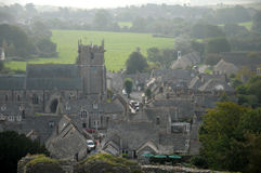 Corfe village in Dorset Stock Image