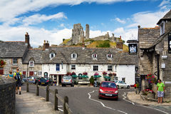 Corfe village, Dorset, UK. Royalty Free Stock Photography