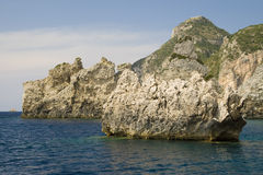 Corfou - la Grèce photos stock