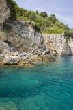 Corfou - la Grèce image libre de droits
