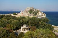 Corfu在希腊 图库摄影
