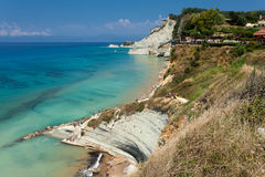 Corfu在希腊 免版税库存图片