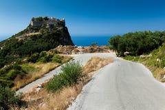 Corfu在希腊 免版税库存照片