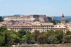 corfu堡垒新的希腊 免版税库存图片