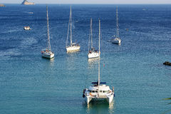 corfu希腊爱奥尼亚人海岛paleokastritsa海运 库存图片