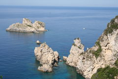 corfu希腊 免版税库存照片