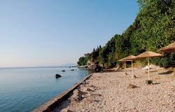Corfu海岛,希腊秀丽  库存图片