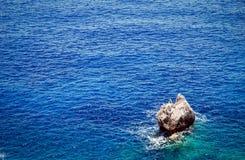 Corfu海岛 库存图片