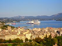 corfu Греция стоковые фотографии rf