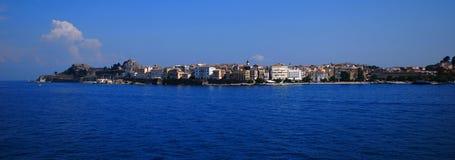 Corfu. Capital town of  island Stock Photo
