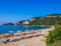 Corfu - Agios Georgios beach Stock Image