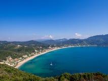 Corfu - Agios Georgios cape Royalty Free Stock Photography