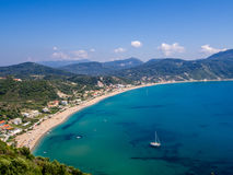 Corfu - Agios Georgios cape Royalty Free Stock Images