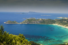Corfu, Agios Georgios, Greece Stock Photography