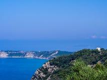 Corfu - Agios Stefanos cape. Agios Stefanos cape on Corfu Greek island Stock Image