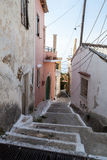 Corfu Alley Stock Image