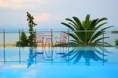 Corfu Beach Resort, Greece Royalty Free Stock Images