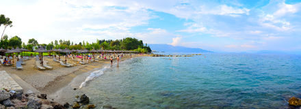 Corfu Beach Resort, Greece Stock Photography