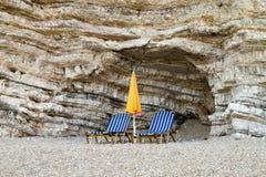 Corfu beach Stock Photos