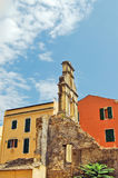Corfu buildings Royalty Free Stock Image
