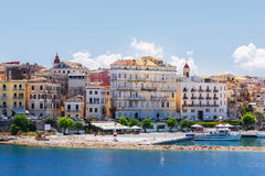 Corfu, capital town of Corfu island Stock Photo