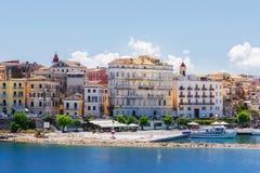 Corfu, capital town of Corfu island Stock Photo
