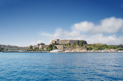 Corfu Castle Royalty Free Stock Photography