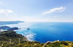 Corfu coast Stock Image