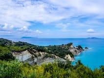 Corfu - Drastis cape Royalty Free Stock Images