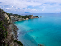 Corfu - Drastis cape Royalty Free Stock Photo