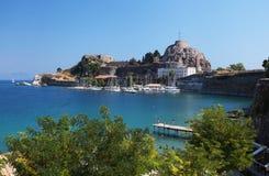 Corfu em Greece Imagens de Stock