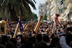 Corfu Epitaph procession Stock Photo