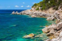 Corfu, Ermones foto de stock