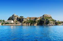 corfu fästning Arkivbild