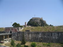 Corfu, fort. Greece Royalty Free Stock Photos