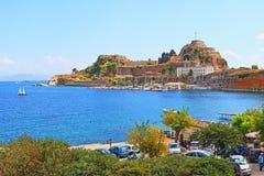 Corfu fortress Greece Royalty Free Stock Image