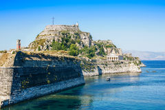 Corfu fortress Stock Photography