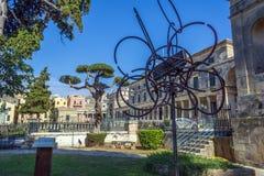 Corfu, Grécia - 25 de agosto de 2018 Museu da arte asiática Corfu Grécia imagem de stock