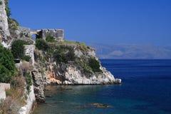 corfu greece ö Royaltyfri Bild