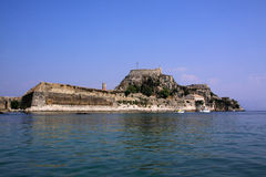 corfu greece Royaltyfri Bild