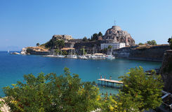 Corfu in Greece Stock Images
