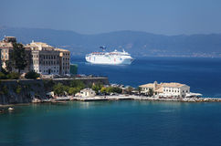 Corfu in Greece royalty free stock images
