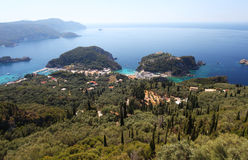 Corfu in Greece Stock Image