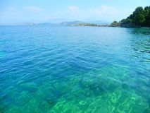 corfu greece Royaltyfri Foto