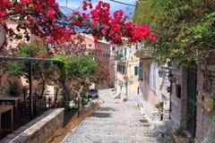 corfu greece Royaltyfria Foton