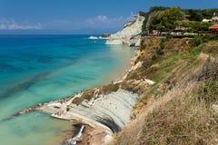 Corfu in Greece. Beautiful island Corfu in Greece Royalty Free Stock Image