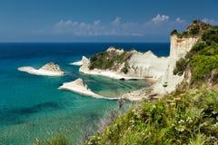 Corfu in Greece. Beautiful island Corfu in Greece Stock Photo